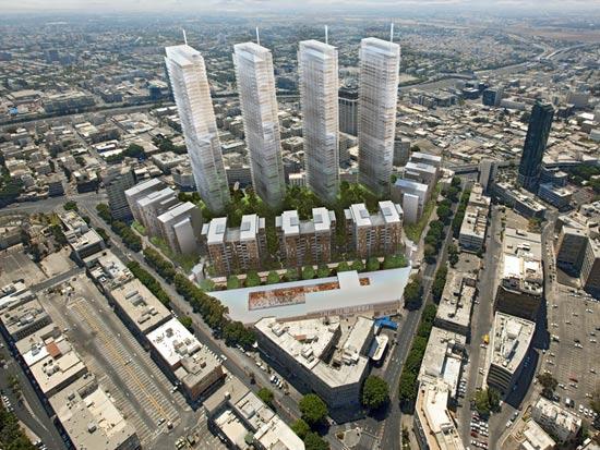 שלב ב' של מתחם השוק הסיטונאי / הדמיה: משרד משה צור אדריכלים בוני ערים